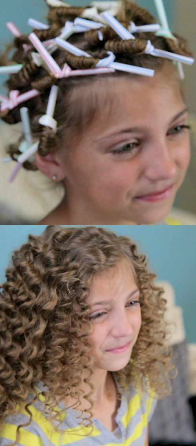 How To Curl Your Dolls Hair With Straws - 31 best straw hair styles images on straws
