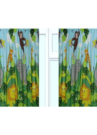 Jungle Curtains In 54 And 72 Inch Http Www Childrens Rooms Co