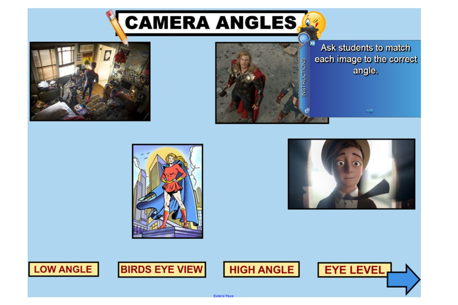 Explicitly Explore The Elements Of Visual Literacy With