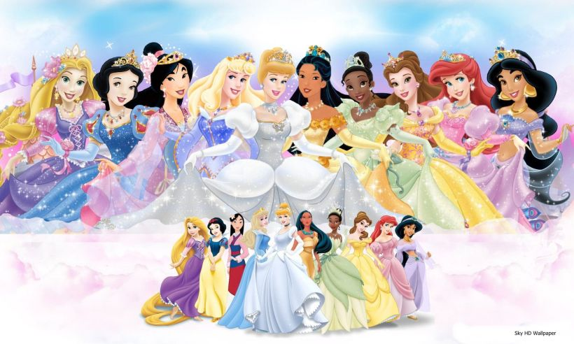 Disney Princess Christmas Wallpapers Wallpaper 1280 1024