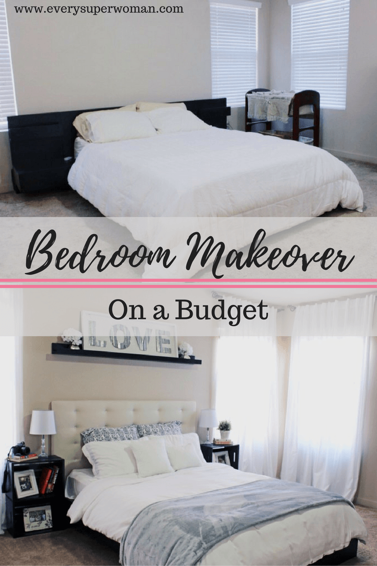 Best Kitchen Gallery: Bedroom Makeover On A Budget Cariloha Giveaway Ikea Malm Bed of Ikea Small Guest Bedroom on rachelxblog.com