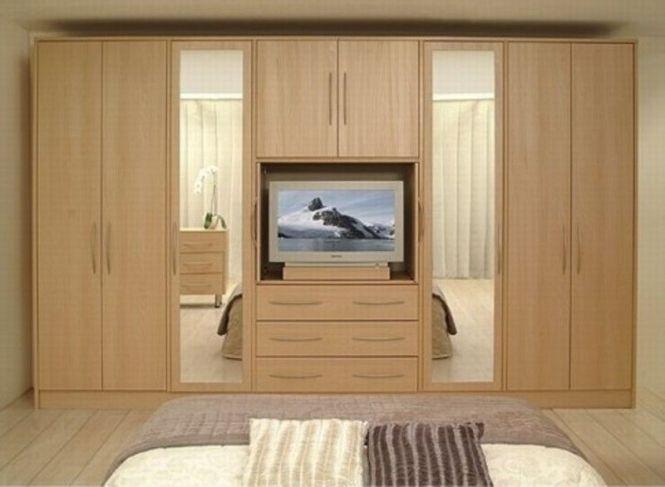 Bedroom Furnitures Wardrobe Dressing Table Almirah Cot Design Interior