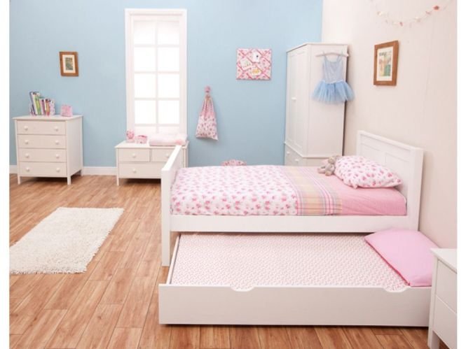 Stompa Classic Kids White 3ft Single Bed 189 00