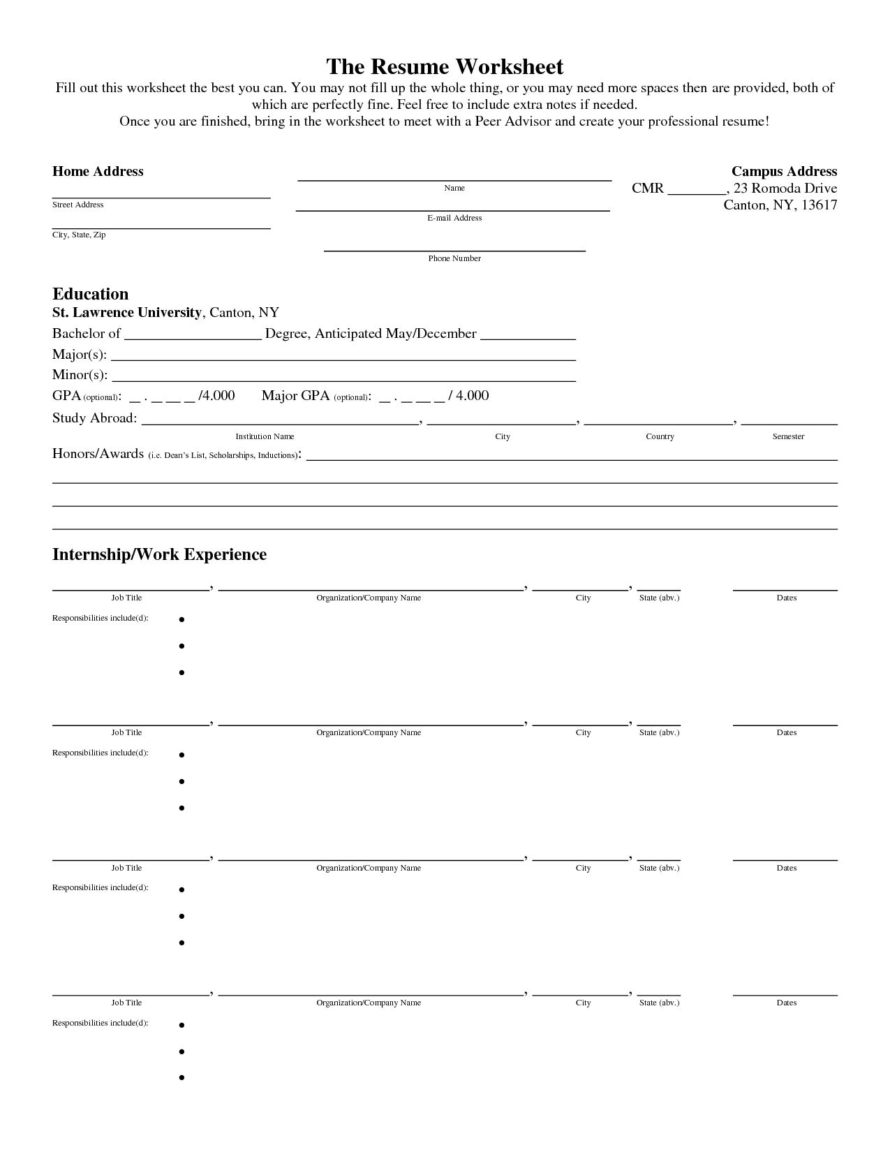 Interior Design D Ry Worksheet