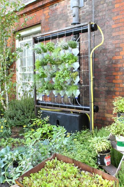 indoor vertical garden system indoor vertical herb garden system | This garden featured
