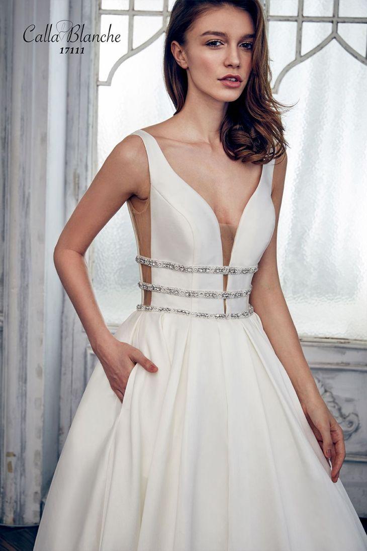 Castalia Wedding Dress Style   Calla Blance  Pinterest