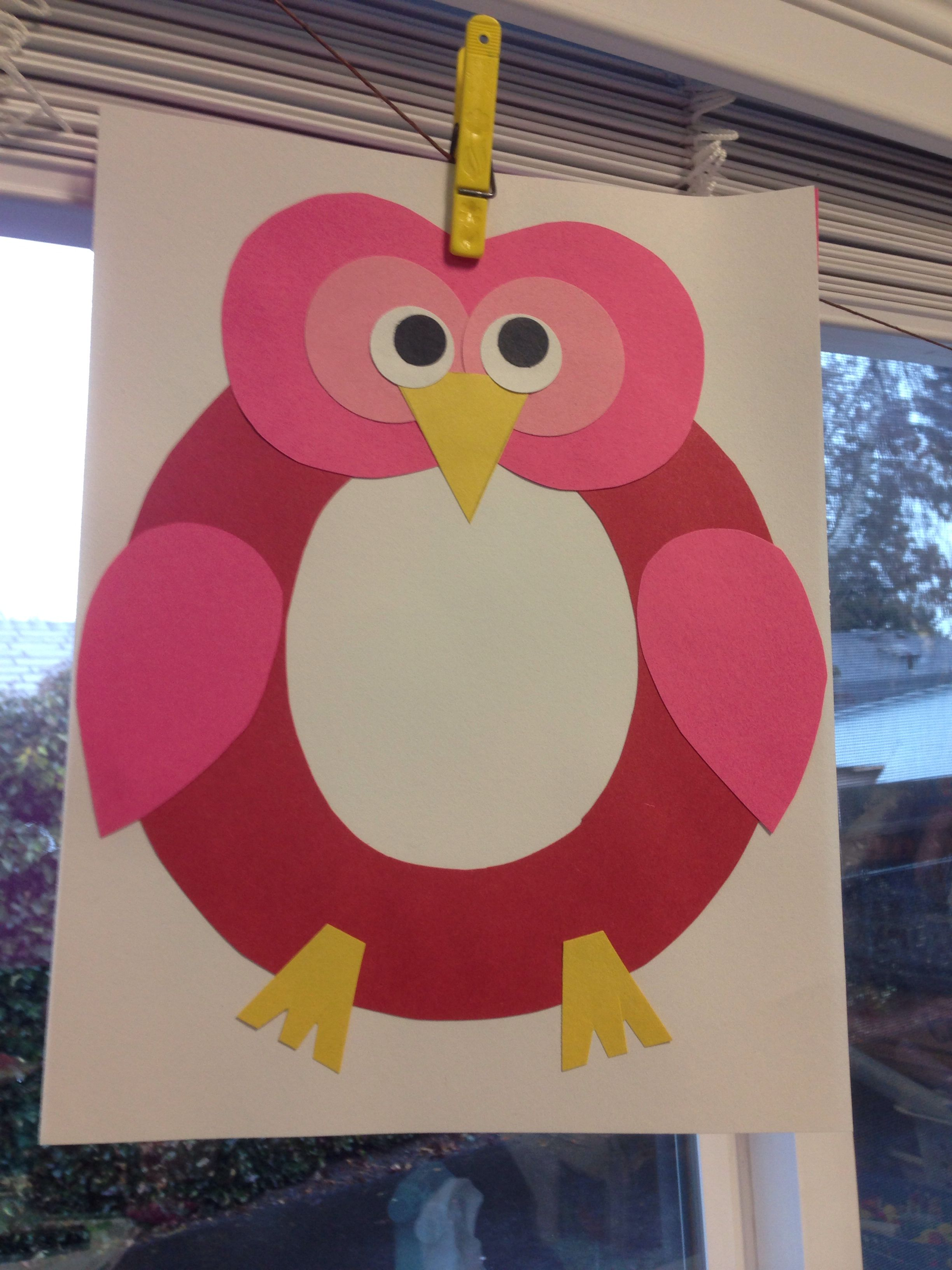 Letter O Owl Craft