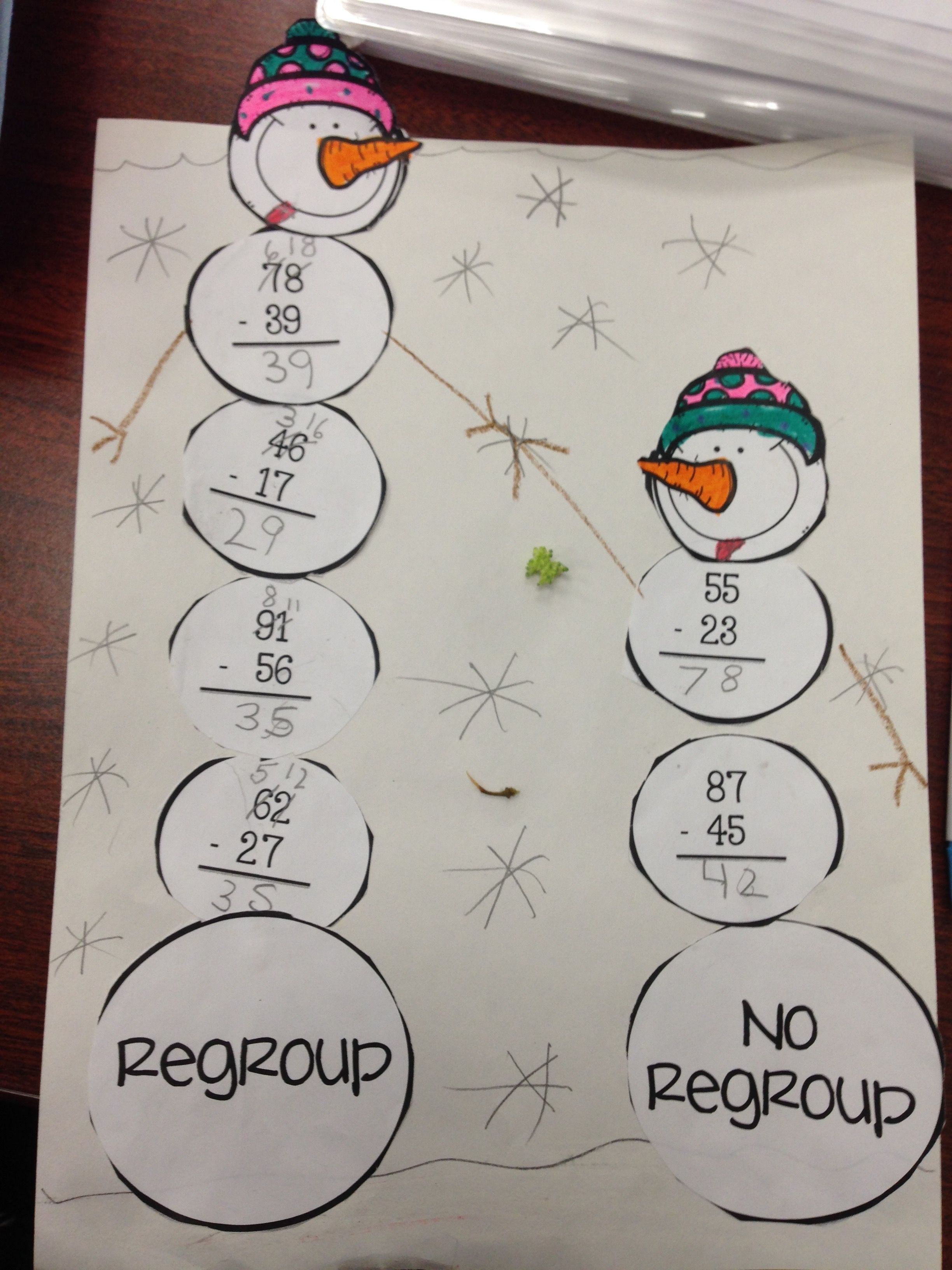 Best Math Regrouping Images Teaching Ideas