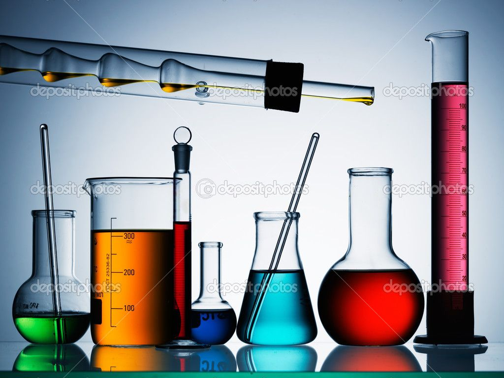 Laboratory Equipment Wallpaper