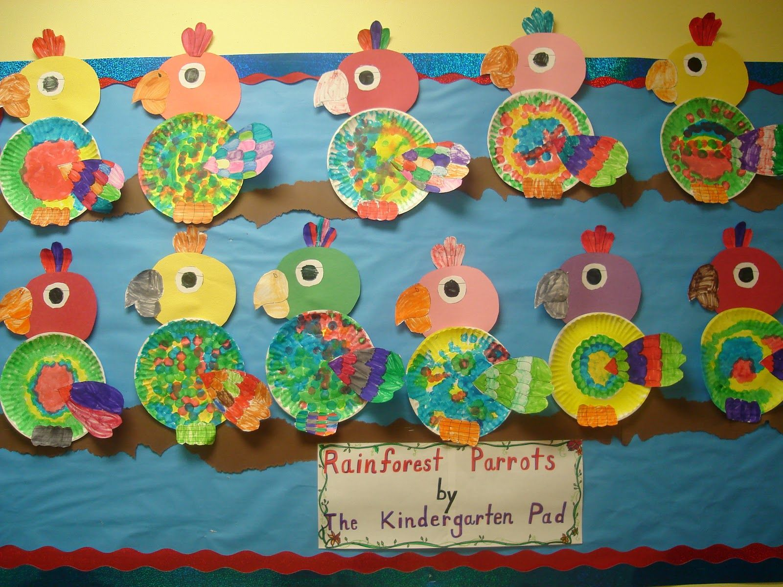 Preschool Rainforest Theme