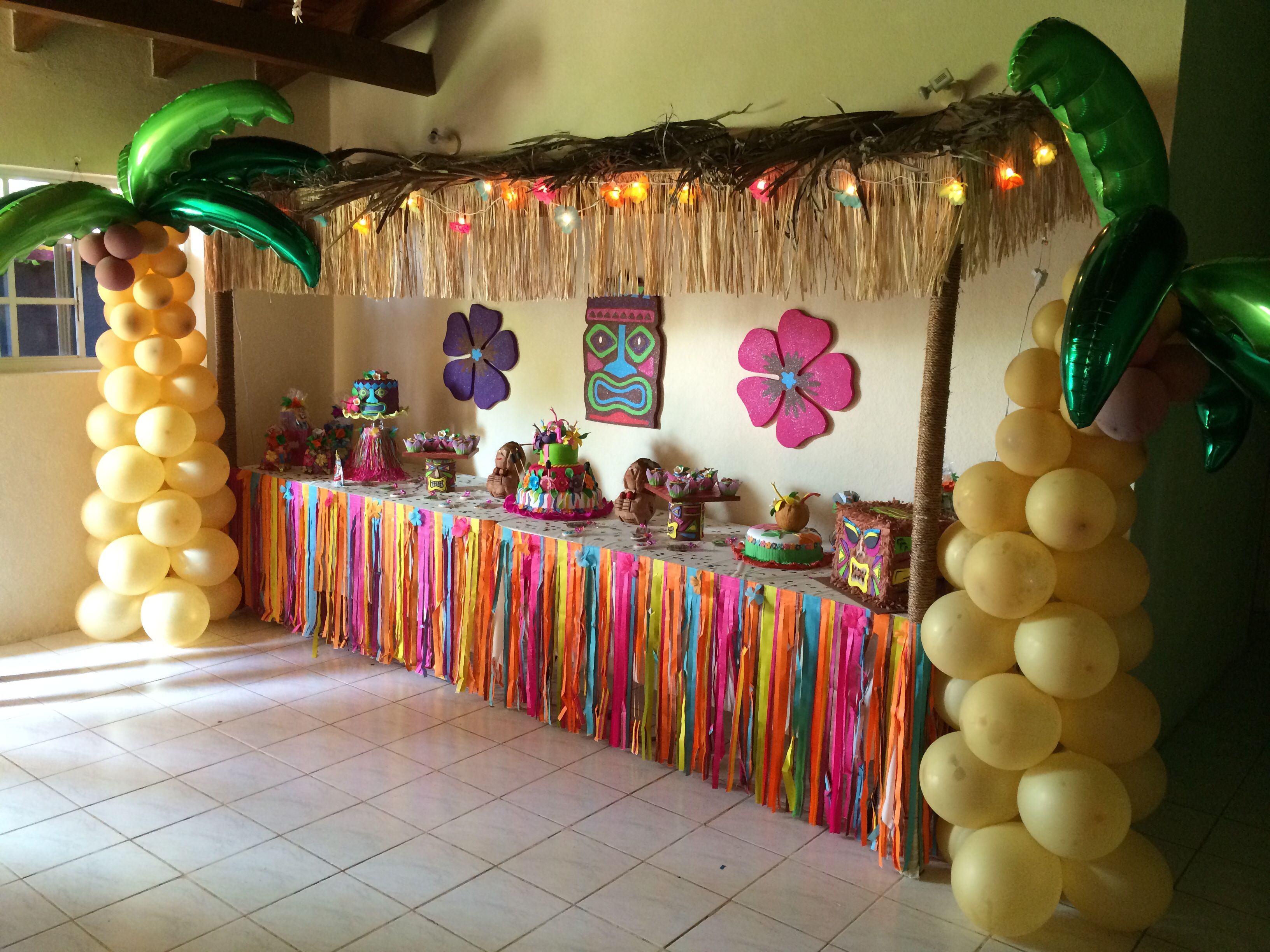 Fiesta Hawaiana 79 Ideas Brillantes