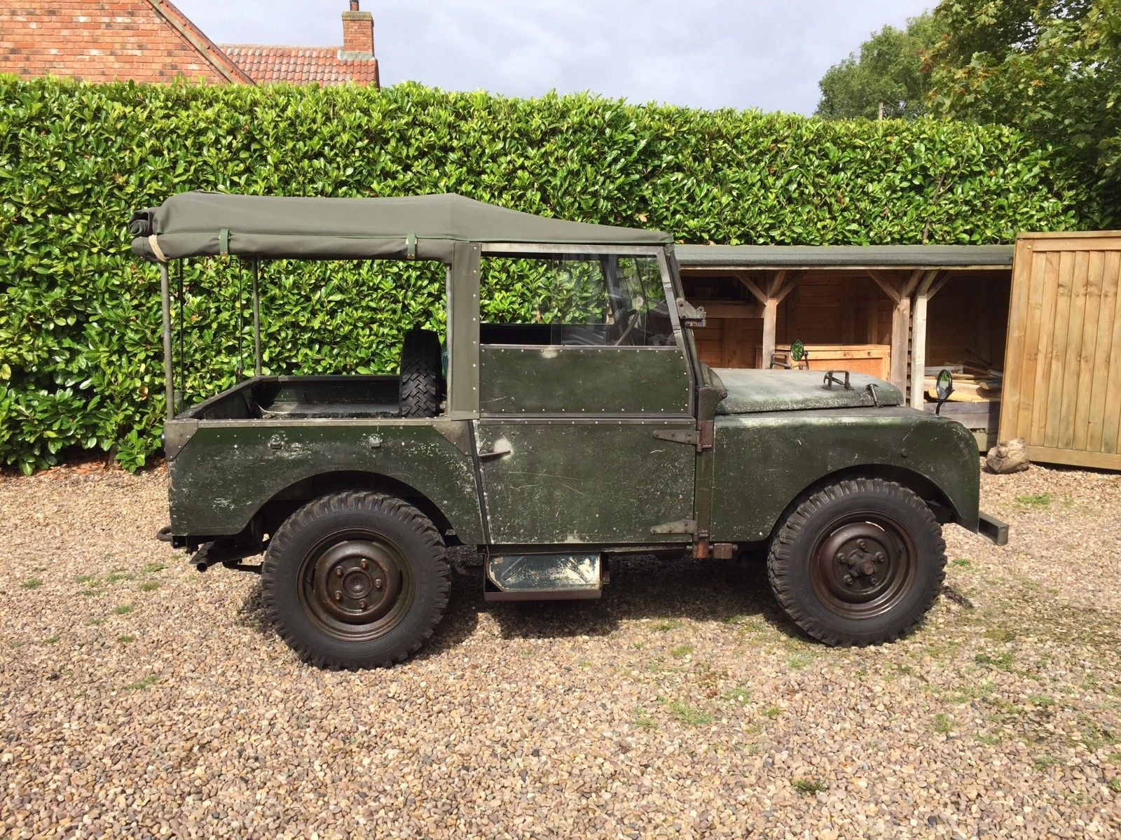 Land Rover Series 1 1952 80inch very rare 1 family owner