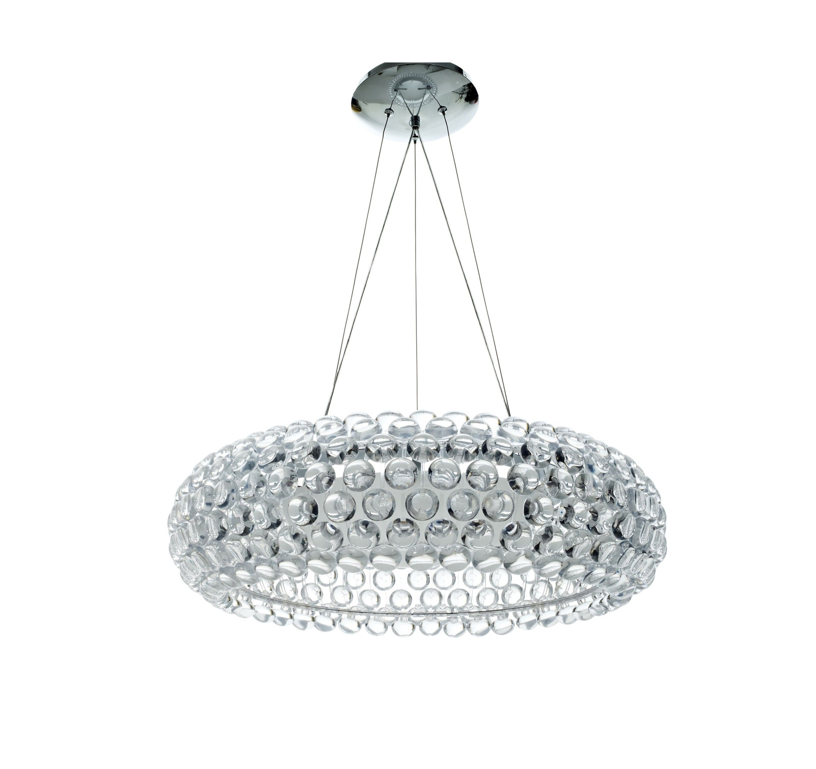 Decoration Ideas Stylish Round Modern Crystal Chandelier