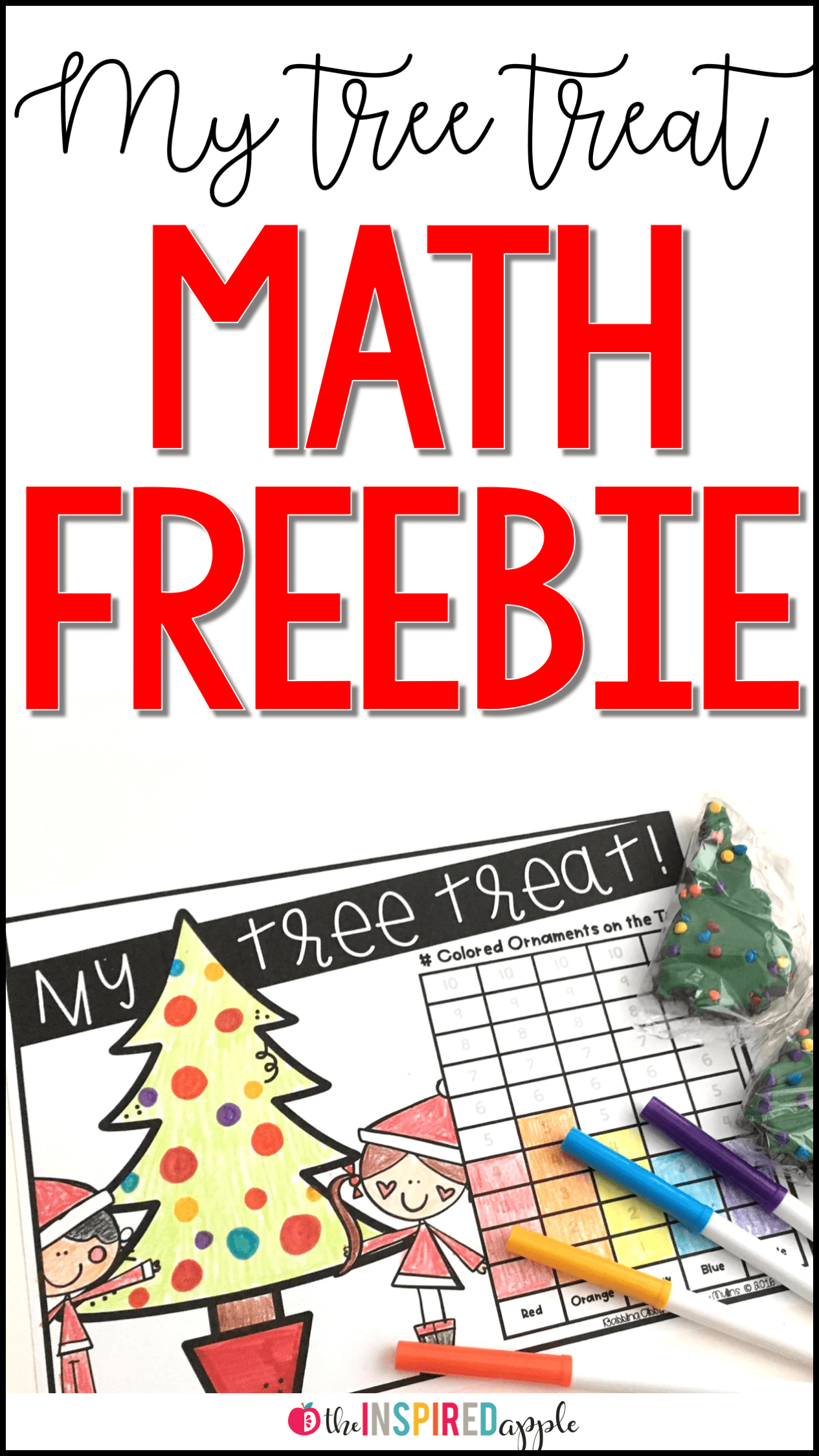 Christmas Tree Graphing Activity Free