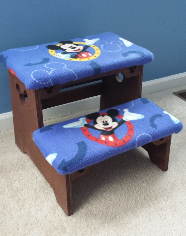 Mickey Mouse Step Stool Things I ve Made Pinterest