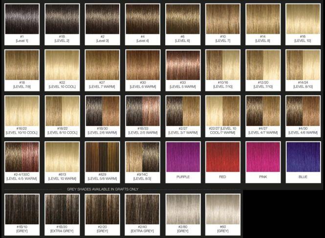 Argan Oil Hair Color Chart Gidiyedformapolitica