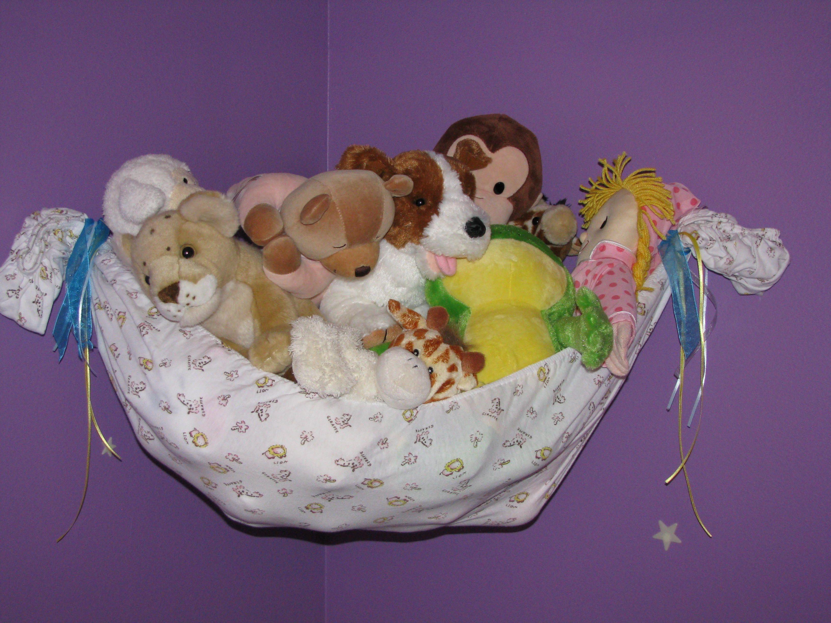 Crib Sheet To Stuffed Animal Hammock
