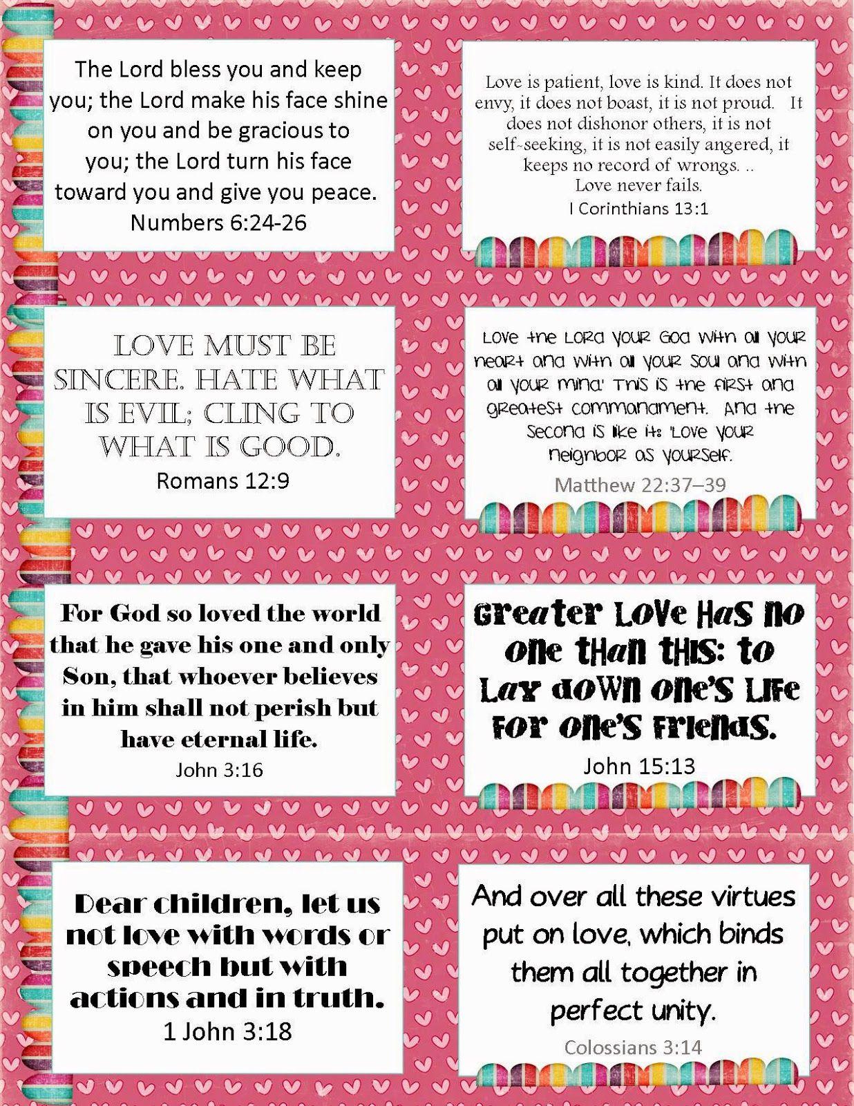Free Printable Valentine S Verse Cards Verse Cards On Love