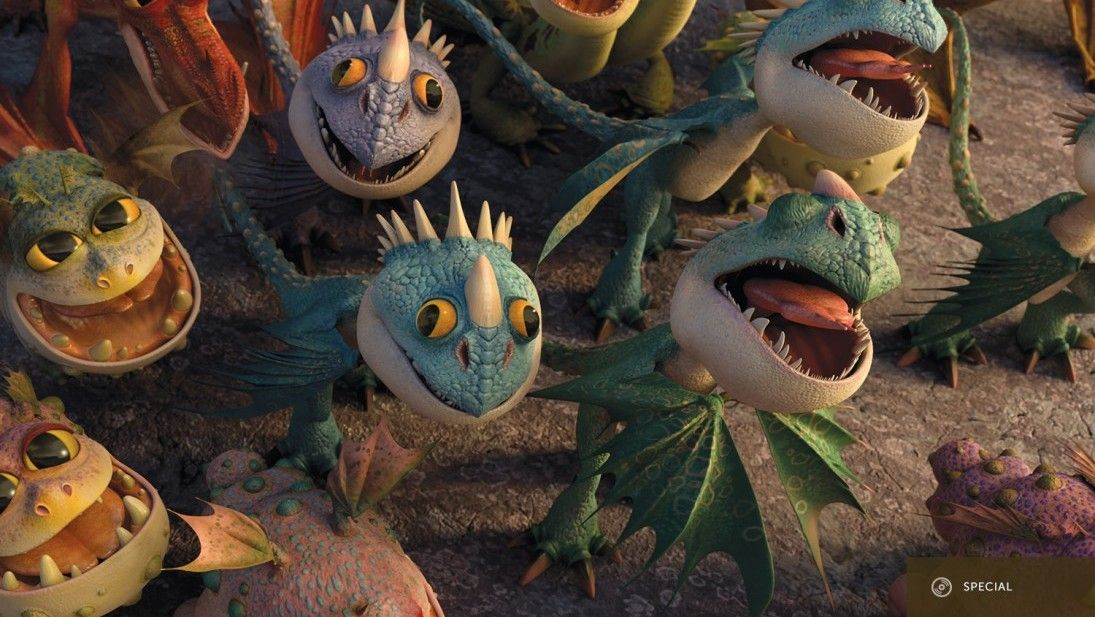 how to train your dragon plush babies