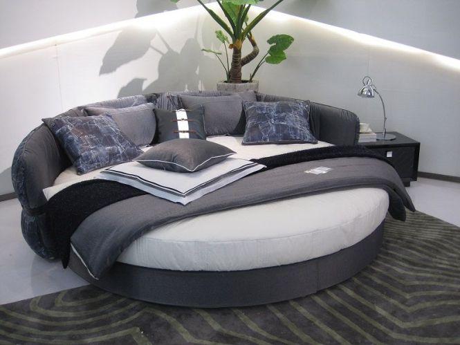 With Mattress Rakuten New Xu Round Luxury Bed Roman Deal Of