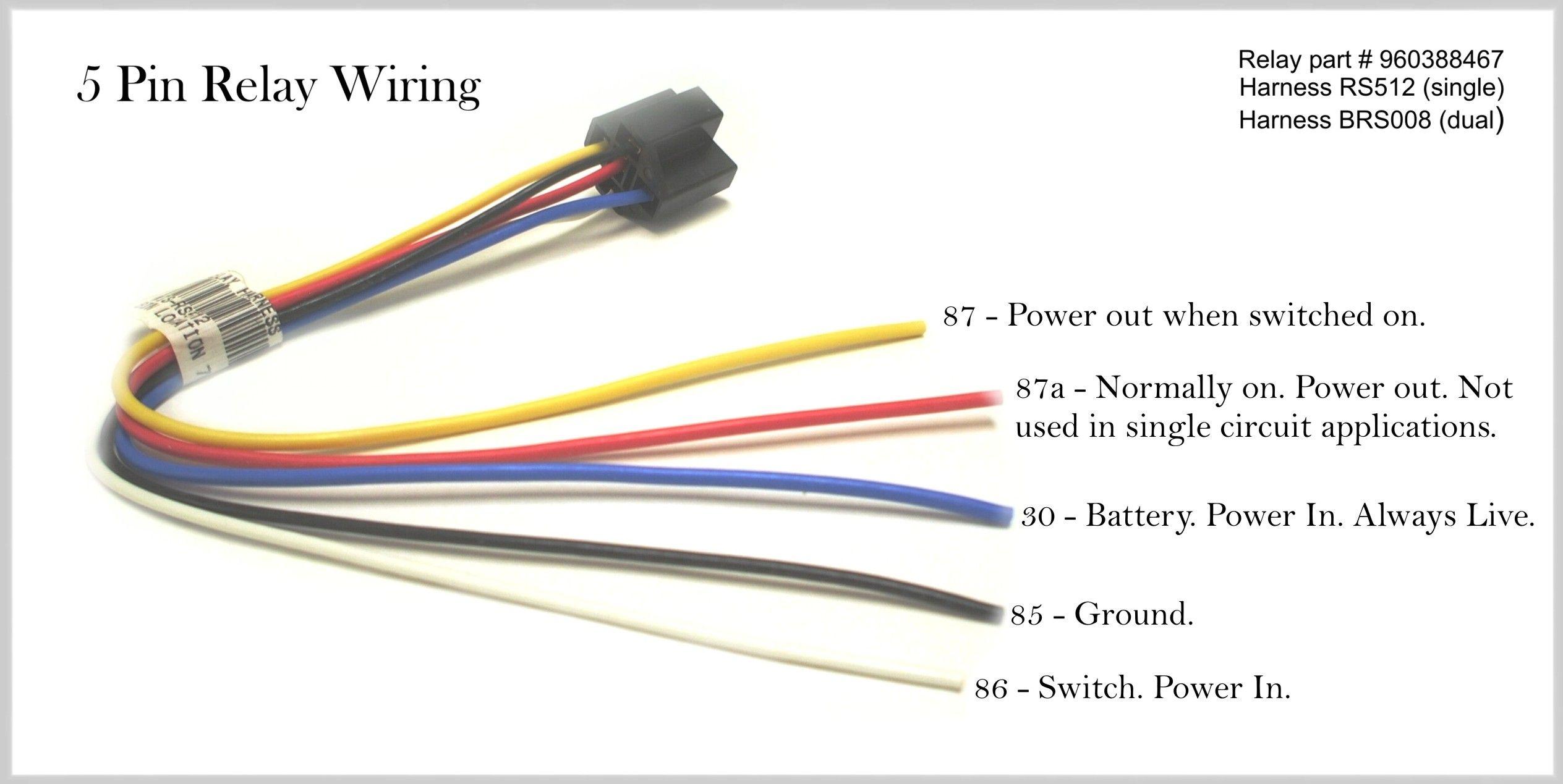 5 Pin Relay Wiring