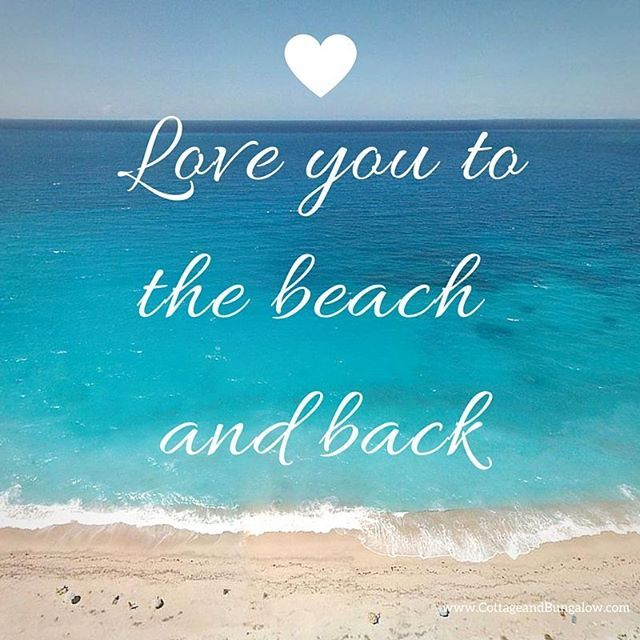 Download Love you to the beach and back.... | my beach, sand, salt ...