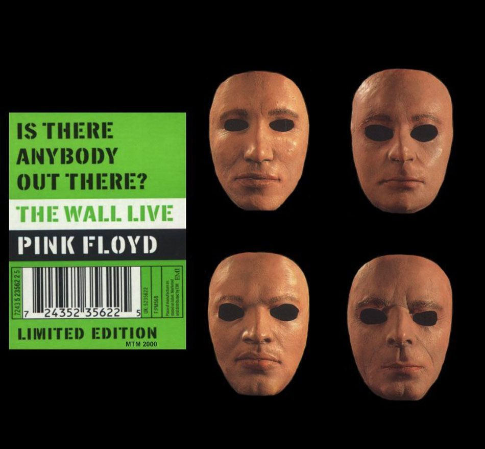 carátula frontal de pink floyd is there anybody out on pink floyd the wall id=86269
