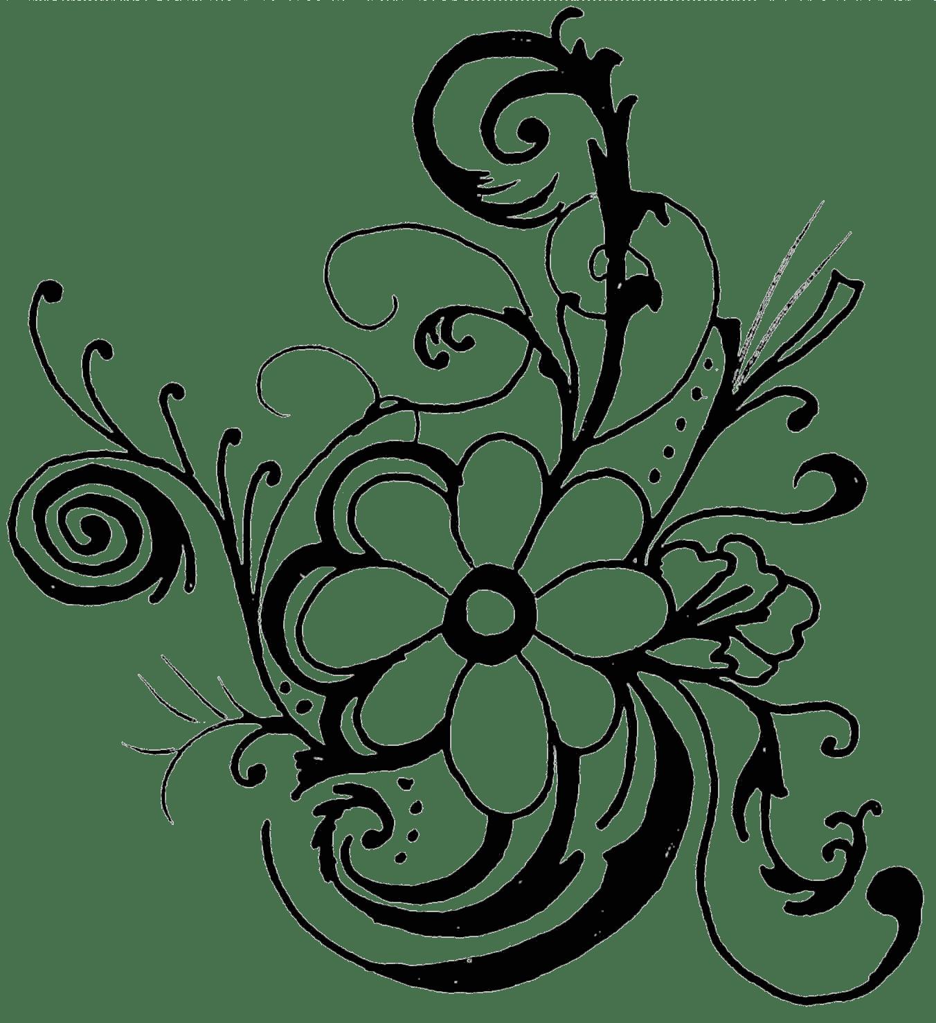 Hawaiian Flower Clip Art Borders Clipart Panda