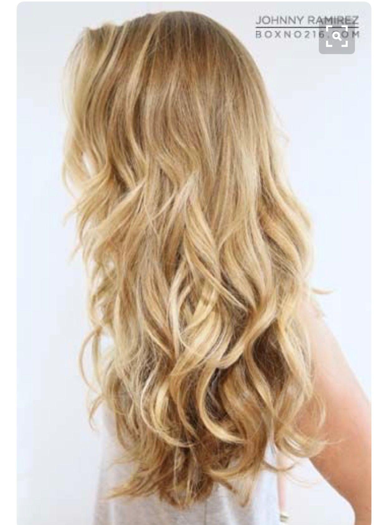 Blond summer Hair summer Pinterest