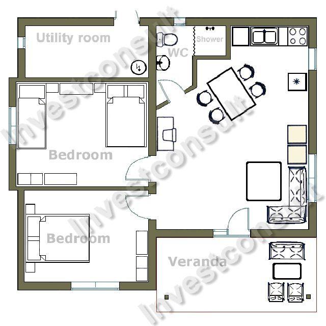 Sample Home Floor Plan Modern House Plans Designs Interior Design