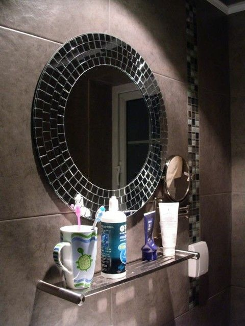 mosaic bathroom mirrors digihome | mosaic mirror | pinterest