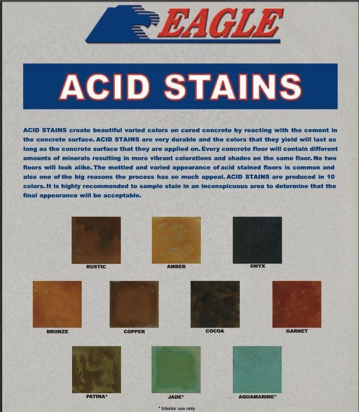 eagle concrete acid stain color chart basement on home depot paint color charts id=56504