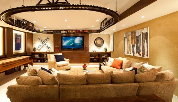 den ideas for and adults ceilings room on Basement Den Ideas id=54275