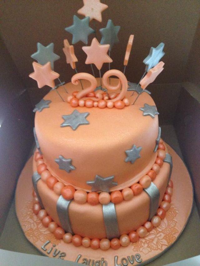 29th birthday cake cakes pinterest 29th birthday
