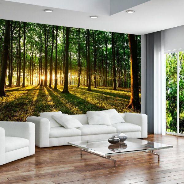 photo wall murals Wallpaper 350x245 cm ! 3 colours to choose - Non-woven