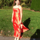 Coral homecomingprom dress dresses prom dresses and homecoming