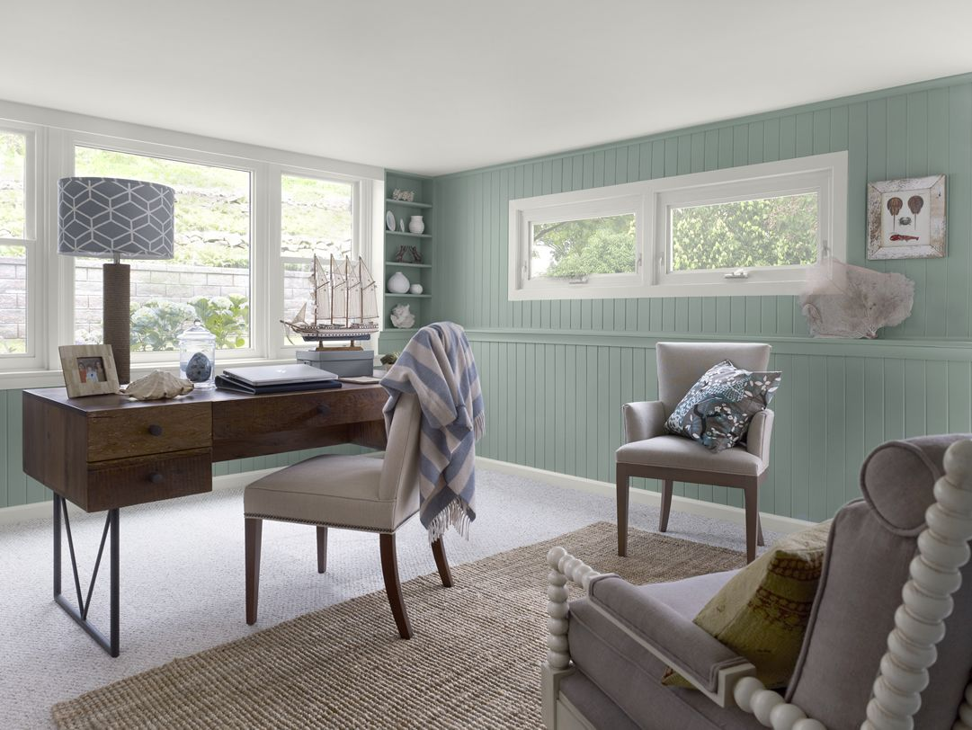 favorite paint color benjamin moore stratton blue on blue office color id=94801