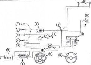Massey Ferguson 135 Tractor wiring diagram diesel system | tractors | Pinterest | Tractor