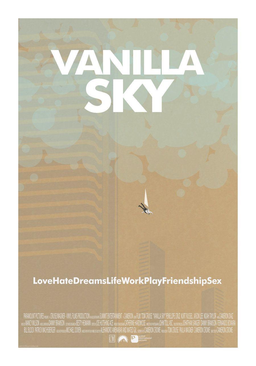 Poster do filme Vanilla Sky