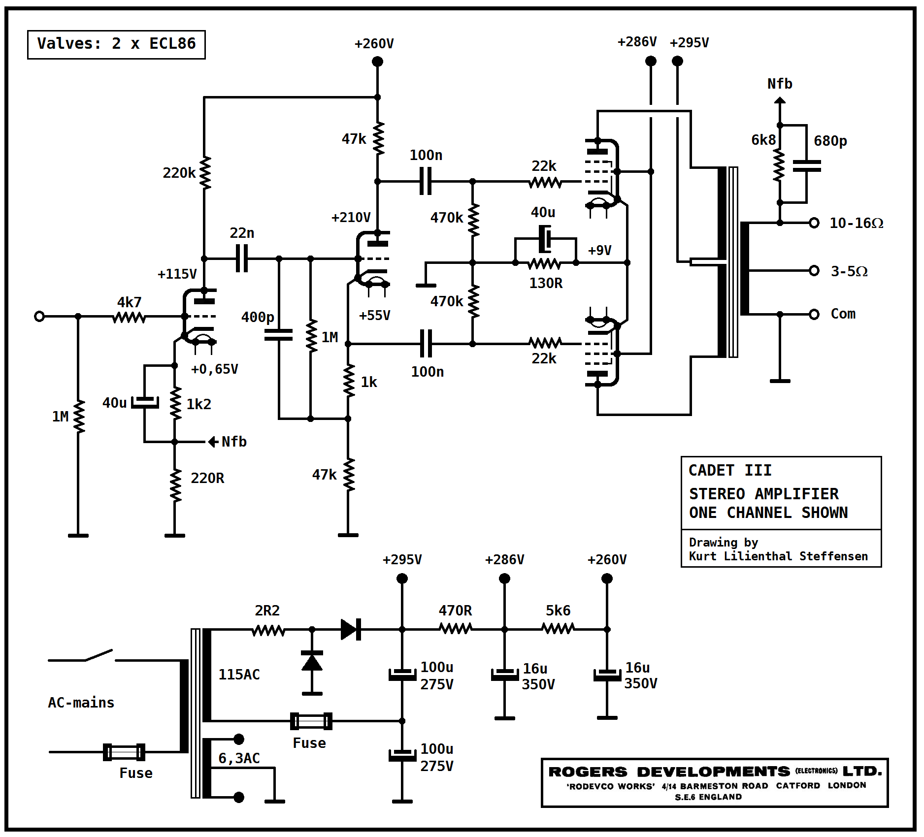 Variable L Pad Schematic