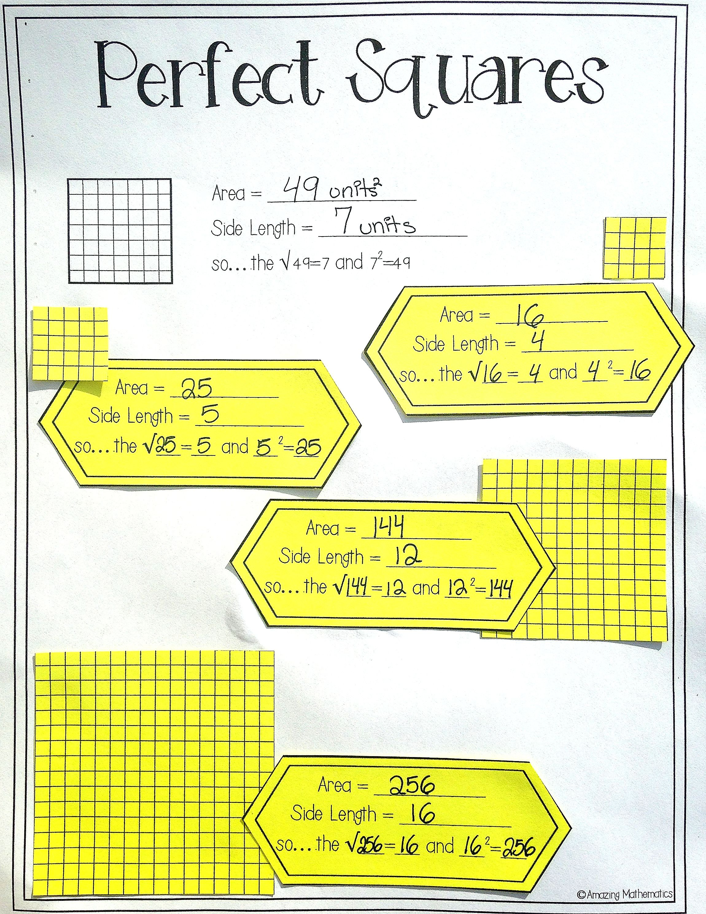 Cube Root Worksheet Free