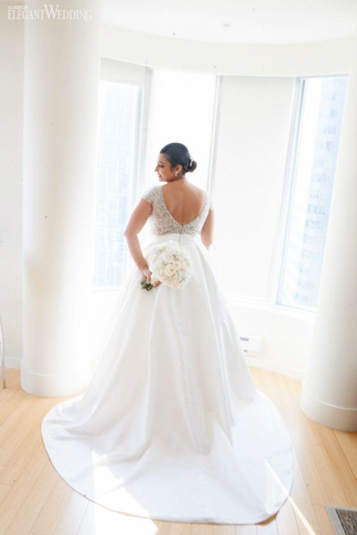 Classic Wedding Dress by Calla Blanche Plus Size Wedding Dress