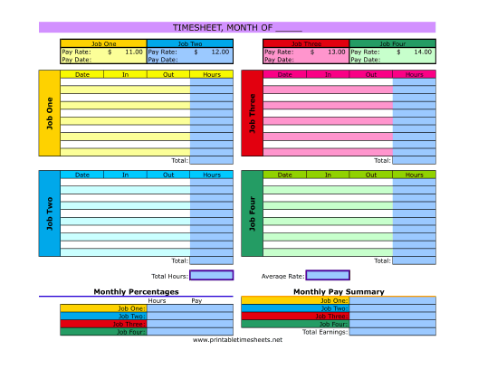 Employee Time Cards FREE DOWNLOAD Champlain College Publishing