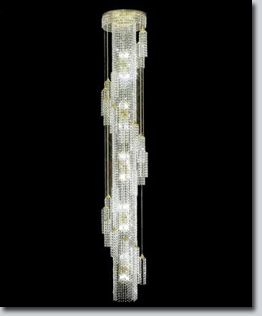 Waterfall Extra Large Crystal Chandelier Available At Grandlight