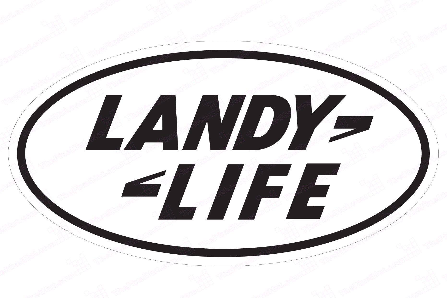 Landy Life Decal