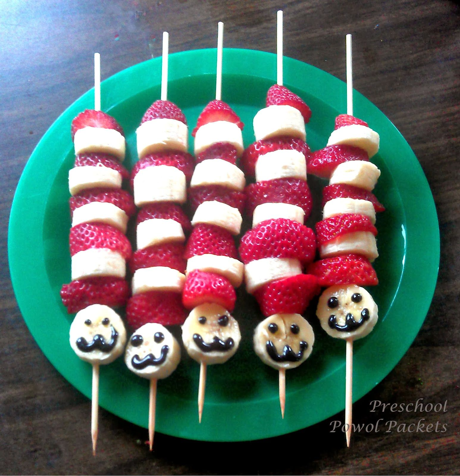 Giant Cat In The Hat Fruit Kabobs