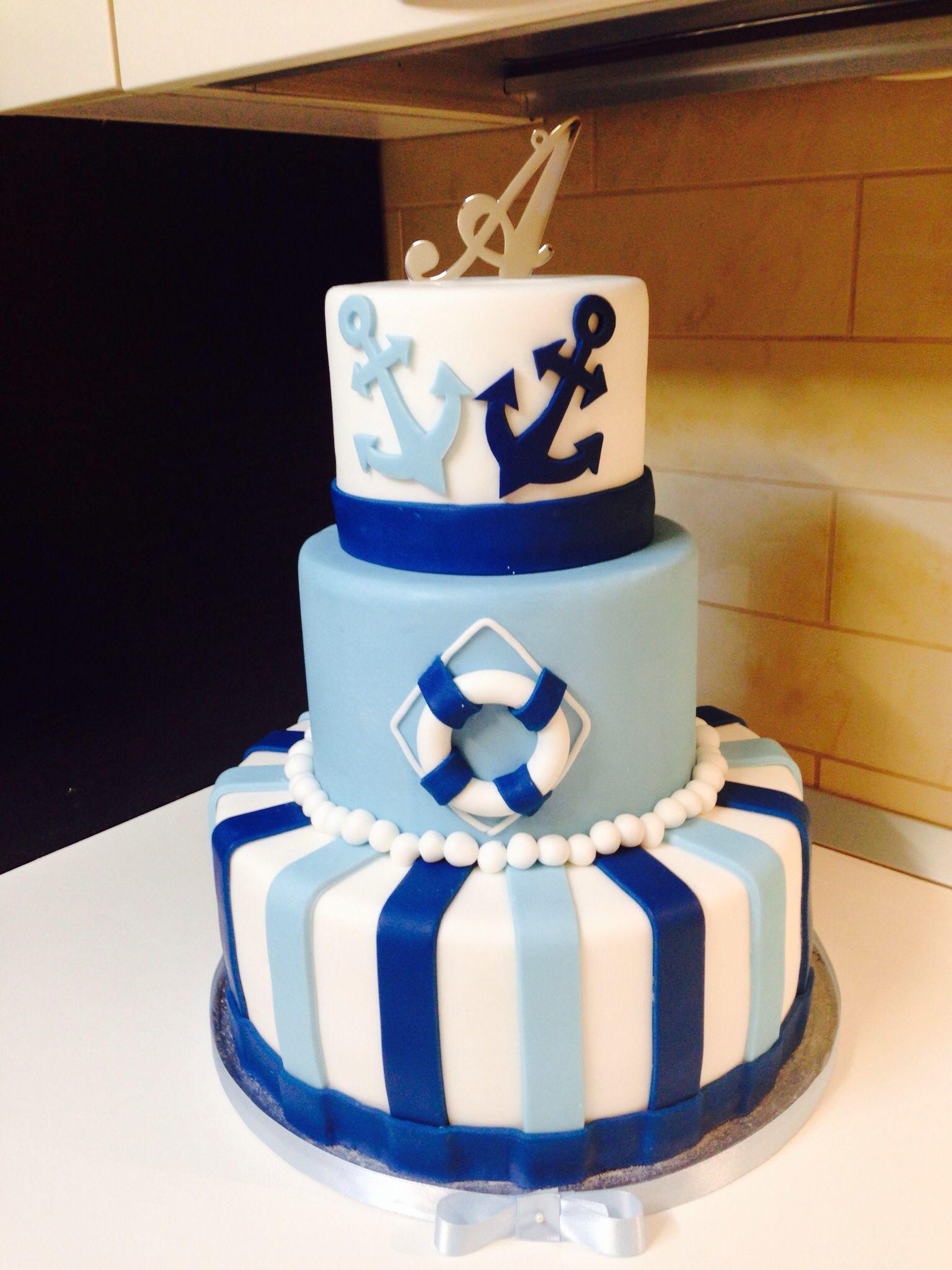 Sailor Cake Le Torte Di Luisa Pinterest Sailor Cake