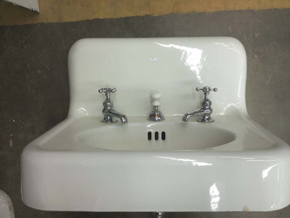 1920's sink with faucet. | architectural salvage | pinterest