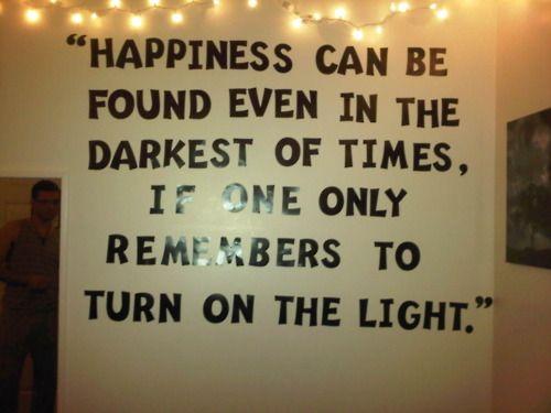 Dumbledore Quote Bedroom Idea