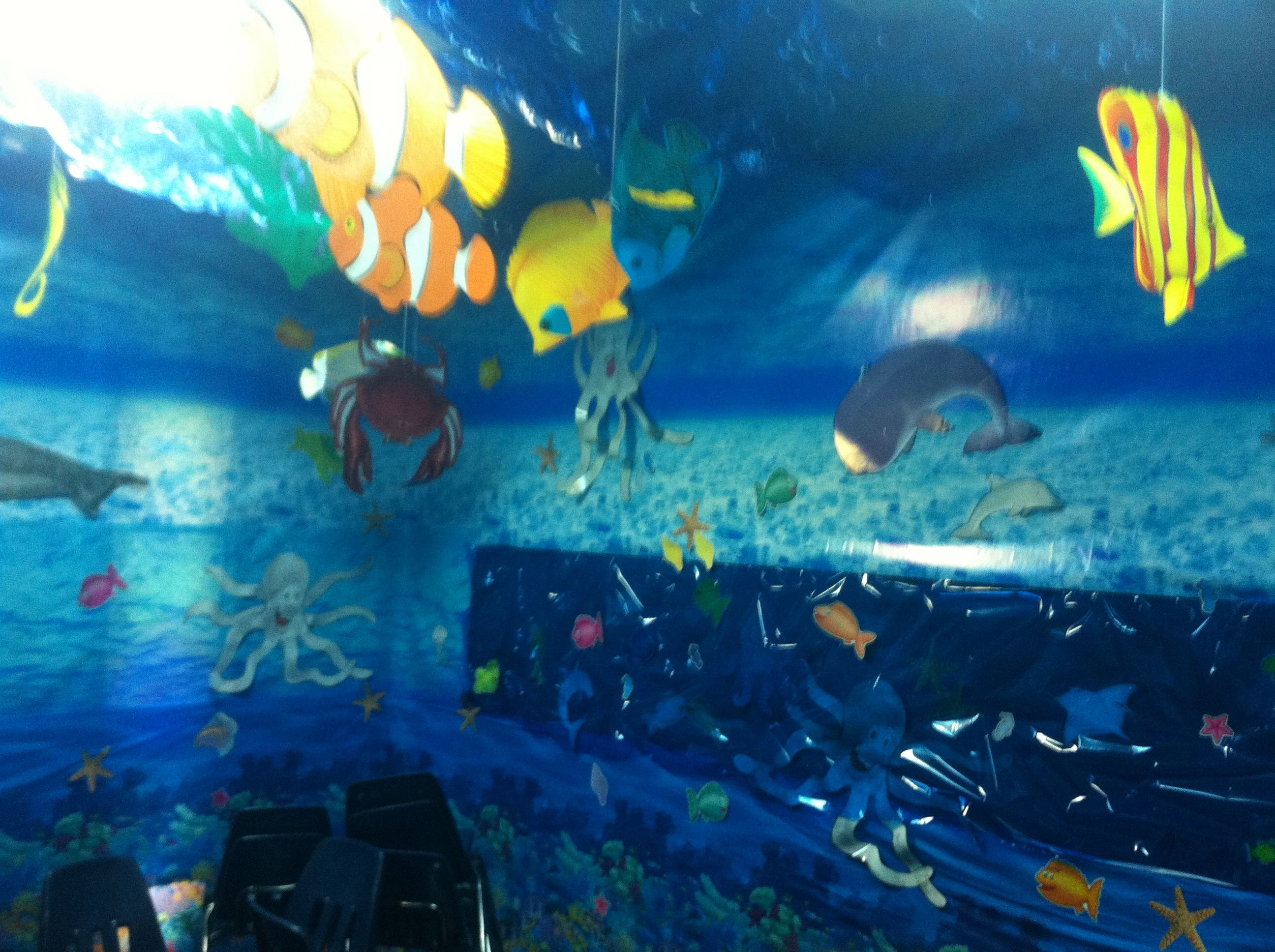 Underwater Sunday School Theme